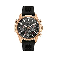 Bulova Men's Rose Goldtone Watch