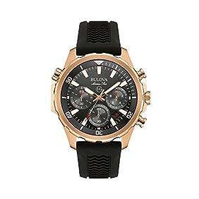 Bulova Men's Rose Goldtone Watch