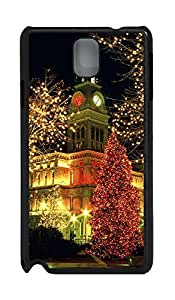 Samsung Note 3 Case Christmas Louisville Lights PC Custom Samsung Note 3 Case Cover Black