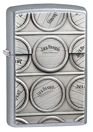 (Zippo Jack Daniel's Surprise Emblem Pocket Lighter)