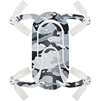 Skin For ZEROTECH Dobby Pocket Drone – Gray Camouflage | MightySkins Protective, Durable, and Unique Vinyl Decal wrap cover | Easy To Apply, Remove, and Change Styles | Made in the USA