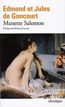 Manette Salomon par Goncourt