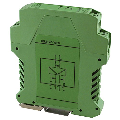 ASI ASI451119 Single Channel Analog Signal Isolator Transmitter with 3-Way Isolation, DIN Rail Mount, 4-20 mA Input, 4-20 mA Output