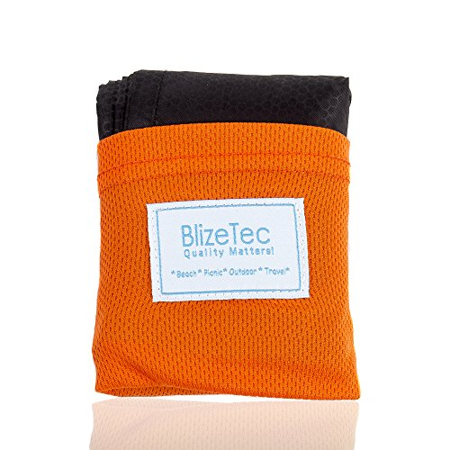 Amazon Lightning Deal 94% claimed: BlizeTec Pocket Blanket: Multipurpose Portable Beach, Picnic, Outdoor and Travel Mat