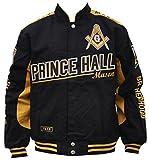 Mason Prince Hall Mens Twill Jacket Extra Large Black/Gold