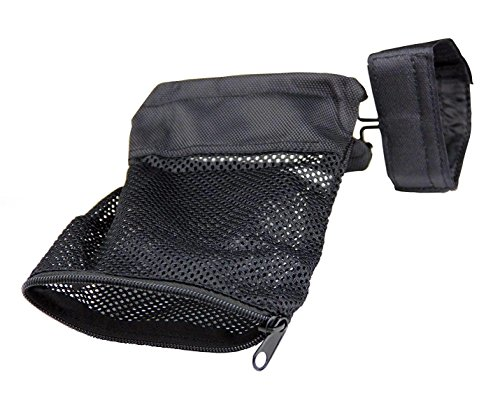 HooGou Ammo Brass Shell Catcher Mesh Trap with Zippered Closure for Quick Unload