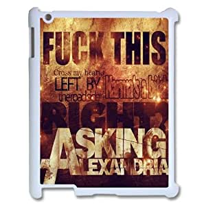 asking alexandria Design Discount Personalized Hard Case Cover for iPad 2,3,4, asking alexandria iPad 2,3,4 Cover