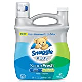 Snuggle Plus Super Fresh Fabric Softener with Odor Eliminating Technology, 95 Fluid Ounce