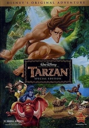 Amazon Com Tarzan Special Edition Tony Goldwyn Minnie Driver