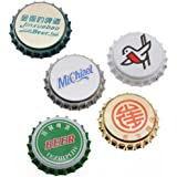 50 Mixed Printed Bottle Caps Craft Scrapbook Jewelry - No Liners (50)