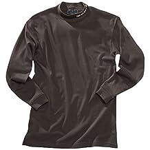 Beretta Men's Long Sleeve Mock Turtleneck, Small, Black