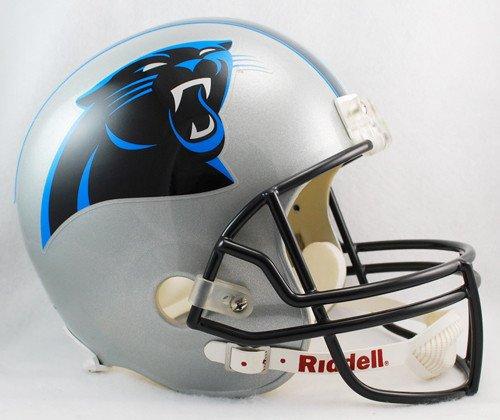 Carolina Panthers Riddell Deluxe Replica Helmet - Licensed NFL Football Merchandise