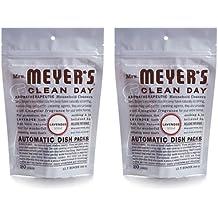 Mrs. Meyer's Automatic Dishwasher Packs - Lavender - Case of 6 - 12.7 oz