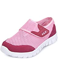 PPXID Boy's Girl's Mesh Athletic Velcro Casual Sneaker Running Shoes