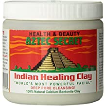 Aztec Secret - Indian Healing Clay - 1 lb. | Deep Pore Cleansing Facial & Healing Body Mask | The Original 100% Natural Calcium Bentonite Clay