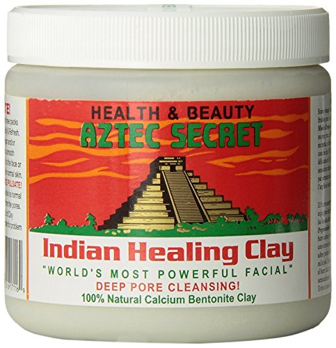 Aztec Secret - Indian Healing Clay - 1 lb. | Deep Pore Cleansing Facial & Healing Body Mask | The Original 100% Natural Calcium Bentonite Clay ()
