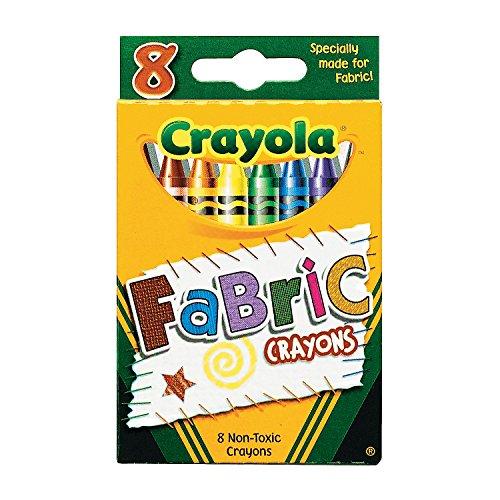 Oriental Fabric Case (8-Color Crayola Fabric Crayons (12 Boxes))