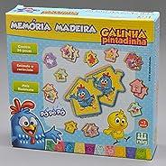 Jogo da Memória Galinha Pintadinha, Nig Brinquedos