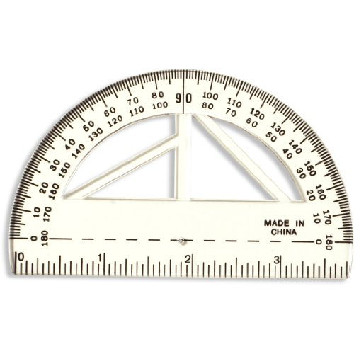 Officemate Achieva 4 Inch Protractor 30204 product image