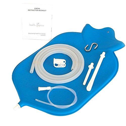 Large HealthAndYoga Enema Bag Converters product image