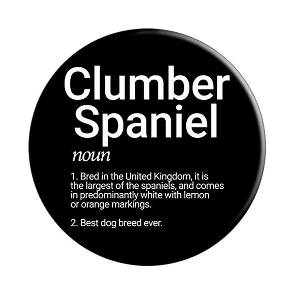 Clumber Spaniel Breed Definition Dog Mom Memorial Gift 3