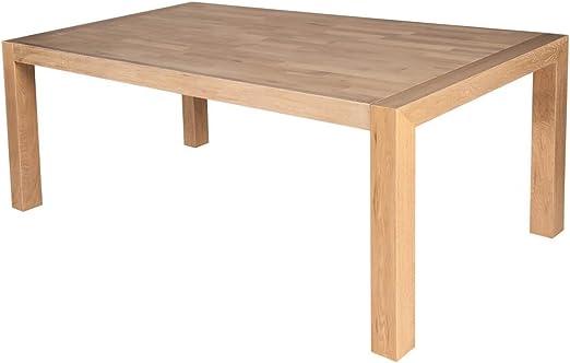 SAM® Esszimmer Holz Tisch Damar aus geölter Ulme 180 x 90 cm