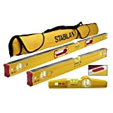 Stabila 96M Magnetic Level Set Kit - 48''/24'' Torpedo and Case