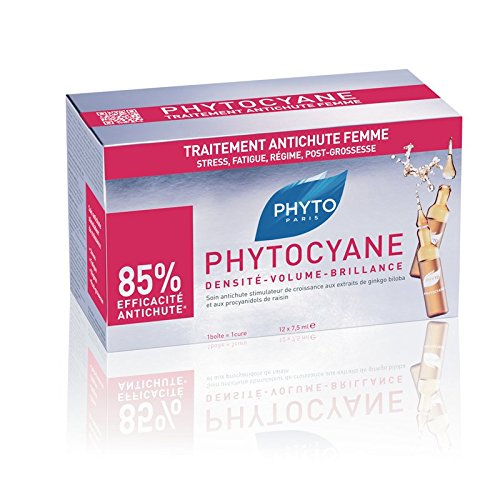 PHYTO PHYTOCYANE Revitalizing Serum, 12 Count, 0.25 fl oz