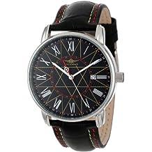Breytenbach Men's BB7750SGW Classic Analog Dual Time Function Watch