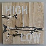 OldBleu Tide Clock Timer - Handmade - Nautical