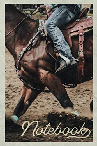 Used, Notebook: Bronc riding Rodeo Events Professional Composition for sale  Delivered anywhere in USA