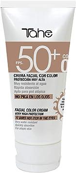 Tahe Protector Solar Facial con Color Sun Protect SPF 50+ UVA ...