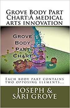 Book Grove Body Part Chart:A medical arts innovation by Sari Grove (2013-07-13)