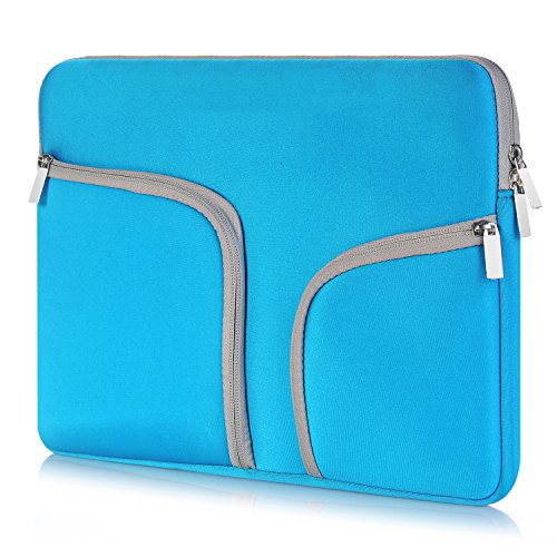 egiant Laptop Sleeve Case 13.3 inch Waterproof Protective Bag Compatible Mac Air 13 /Pro 13 Touch Bar/Surface Book/12.9'' iPad Pro/Chromebook 13,Computer Notebook Carrying Case- Blue by egiant (Image #1)