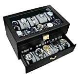 Best Design Watches - Ikee Design Deluxe Black Watch Display Case With Review