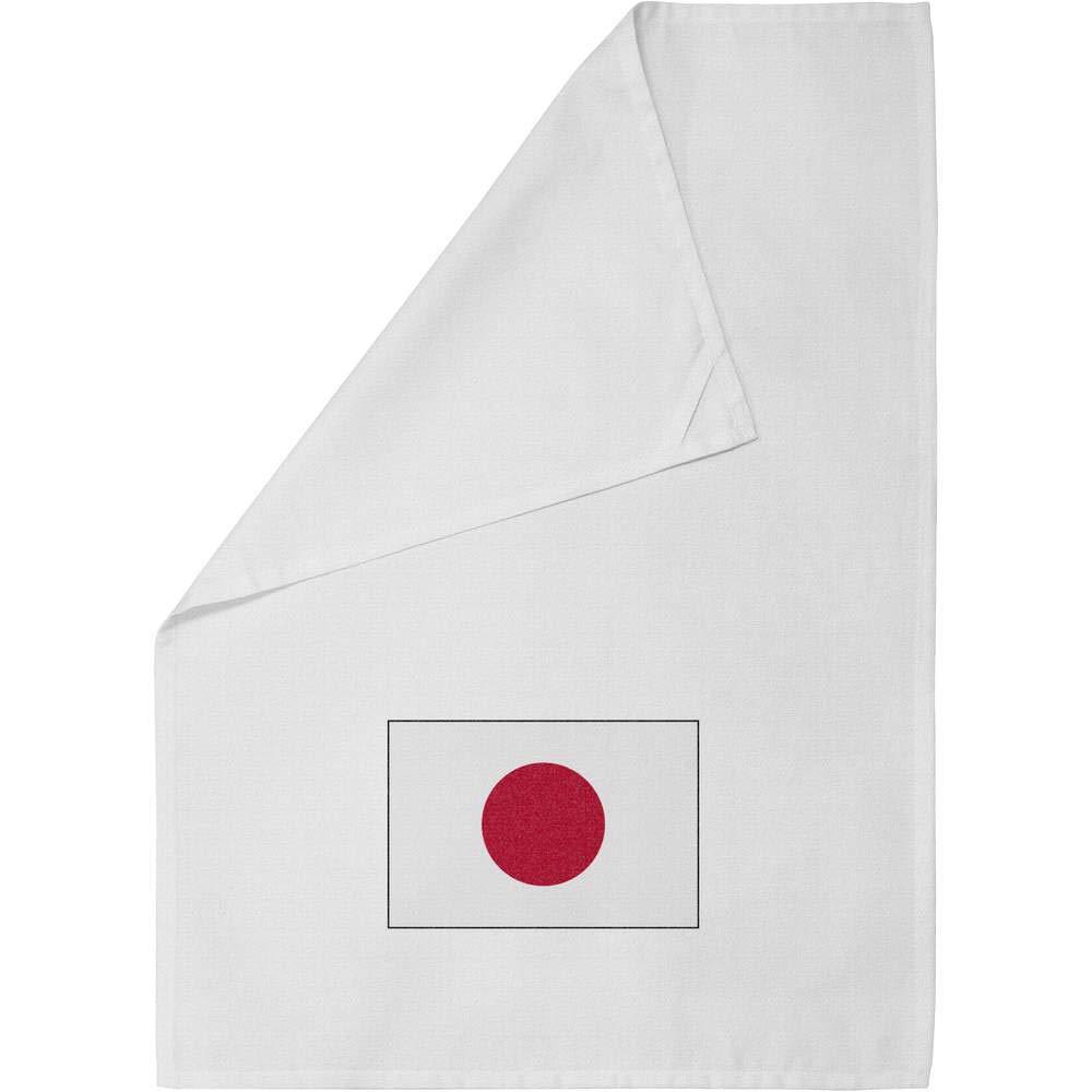 Bandera Japonesa Paño de Cocina