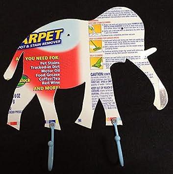Diseño de elefante reciclado lata ganchos Perchero de pared ...