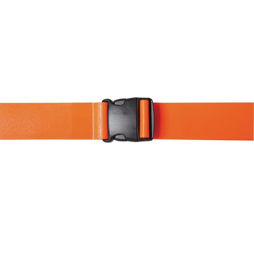 Infection Control Gait Belts, Bright Orange, 72'' by Physical Therapy Supplies (Image #1)