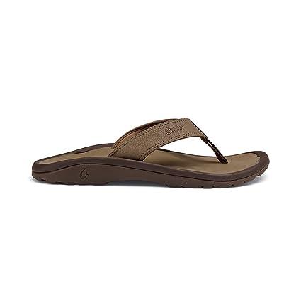 CMC5098gpy79M OluKai Ohana Sandals WhiteDark Java Limited Time Sale