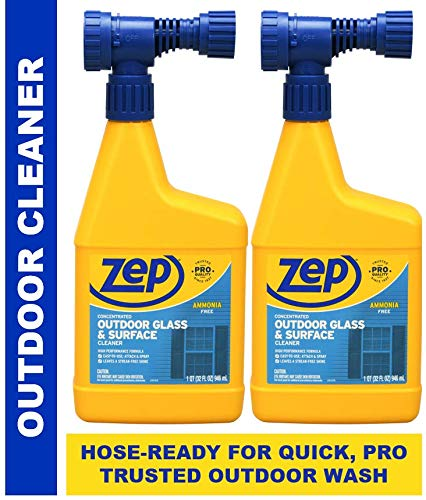 (Zep Outdoor Cleaner Hose Attachment 32 Ounce U49910 (Pack of 2))