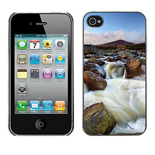 Premio Sottile Slim Cassa Custodia Case Cover Shell // F00031031 cascade Rocky // Apple iPhone 4 4S 4G