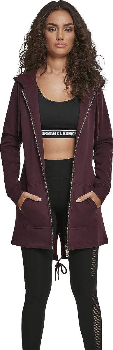 Urban Classics Ladies Sweat Parka Cardigan Donna