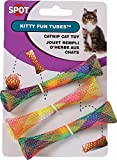 Ethical Pets - Spot Catnip Cat or Kitten Toy, Colorful Fun Tubes. Interactive Bouncy cat Toy