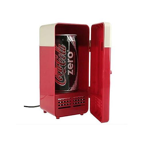 Compra LTongx Portátil Mini USB refrigerador 10W Bebida Cerveza ...