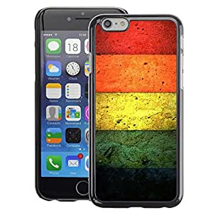 Snap-on Series Teléfono Carcasa Funda Case Caso para iPhone 6 , ( Color Concrete )
