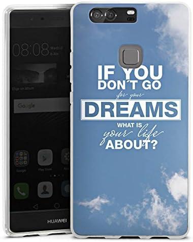 DeinDesign Huawei P10 Plus Carcasa Case Funda Móvil Sprüche Träume ...