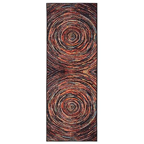 Ottomanson Collection Non Slip Multicolor Abstract