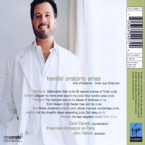 Handel Oratorio arias