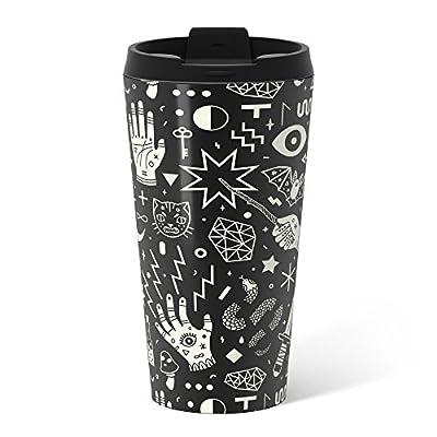 Society6 Witchcraft Metal Travel Mug 15 oz