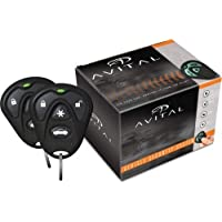 Avital 3100LX 3-Channel Keyless Entry Car Alarm with Remotes and Failsafe Starter Kill-Set